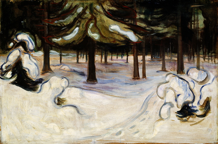 Edvard_Munch_-_Winter_in_the_Woods,_Nordstrand_(1899)-B720